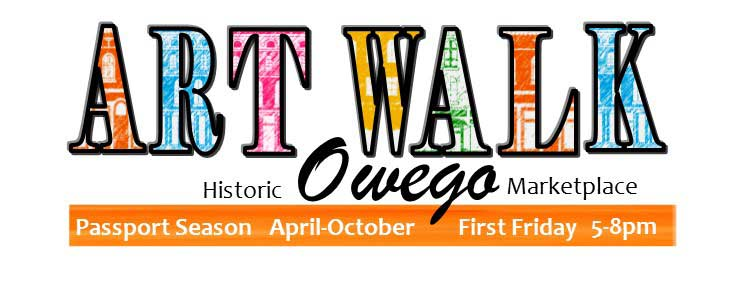Owego's First Friday Artwalk