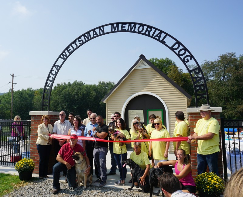 Rebecca Weitsman Memorial Dog Park at Hickories Park