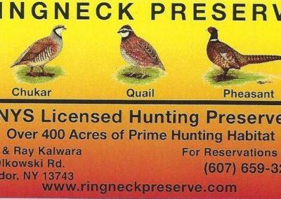 Ringneck Preserve 2
